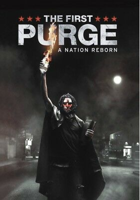 The First Purge - 2018, DVD