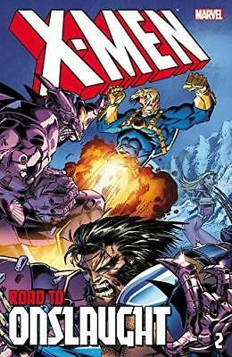 X-Men: The Road To Onslaught Volume 2 By Davis, Lobdell, Kavanagh, Hama, Cruz