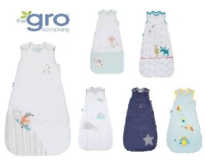 Grobag Baby Sleeping bag 3.5 tog WINTER cold weather asst designs 0 6 18 36 MTH