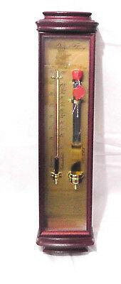 Admiral Fitzroy Storm Glass Barometer/ Thermometer. England 2. Hälfte 20. Jh.