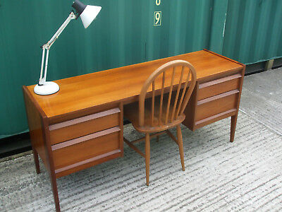 Mid century vintage desk by Younger, excellent A1 solid quality, Danish style