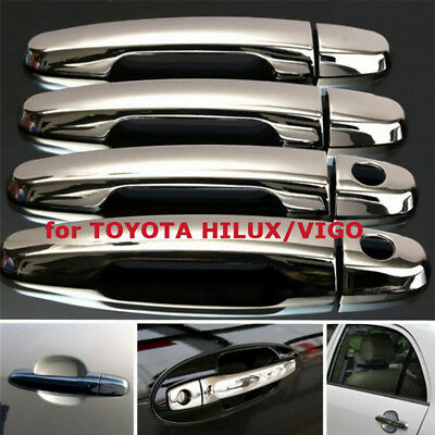 Chrome Door Handle Cover for TOYOTA HILUX/VIGO SR5 MK6 PICKUP 05-14
