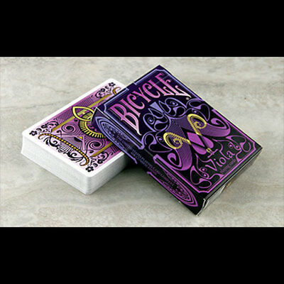 Bicycle Viola Playing Cards by Collectable Playing Cards Poker Spielkarten