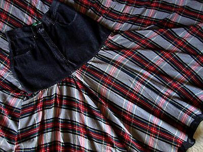 SKIRT gonna vintage 80's woman MOSCHINO jeans  made Italy TG.40-S circa  RARE