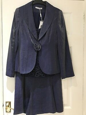 Mother Of The Bride Gina Bacconi Outfit Size 10