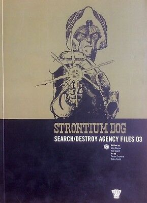 2000AD Strontium Dog: Search/Destroy Agency Files 03 (Wagner/Grant/Ezquerra)