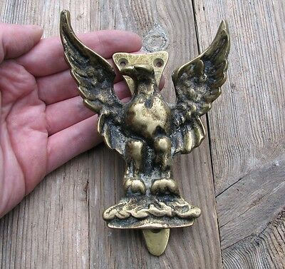 Vintage Reclaimed Solid Brass Eagle Door Knocker