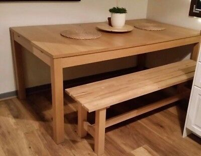 Ikea Wooden Dining Bench Only