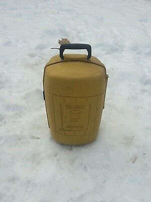 Vintage Coleman Clam-shell plastic carry case for  Lantern ~ camping made /