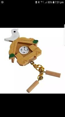 Miniature dolls house accessories 1:12th scale Wooden Coo Coo clock