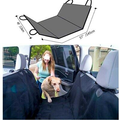 Waterproof Pet Dog Car Rear Back Seat Cover Hammock Travel Protector Boot Mat