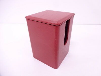 Japanese Lacquer ware/ Lacquer Red Box Tea Cup Container 2/ Tea Ceremony
