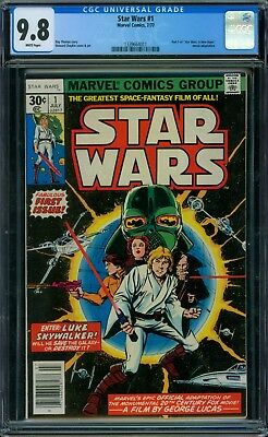 Star Wars 1 CGC 9.8 - White Pages