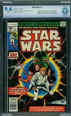 Star Wars 1 CBCS 9.6 - White Pages