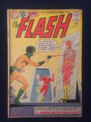 FLASH #119 (March 1961) Silver Age Comic, Qualified, Around Good/Very Good (3.0)