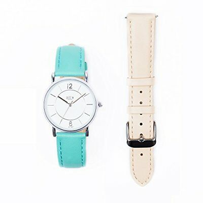 Bill' s Watches Orologio Donna in pelle lusso Trend Pelle Pack Bracciale (I8B)