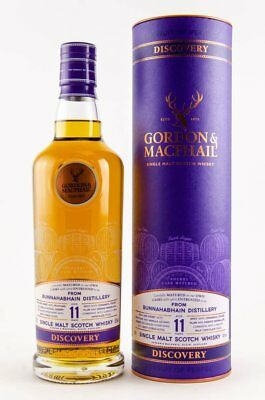 Gordon & MacPhail Bunnahabhain 11 Jahre Single Malt Whisky 43% vol. - 0,7 Liter