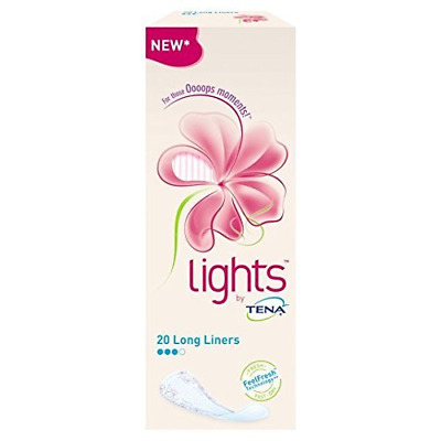 Tena Lights Long Sacs 20 par lot