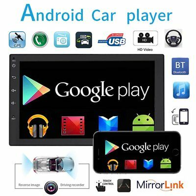 ANDROID 7 Zoll AUTORADIO DOPPEL 2DIN MIT NAVIGATION GPS RDS WIFI USB BLUETOOTH