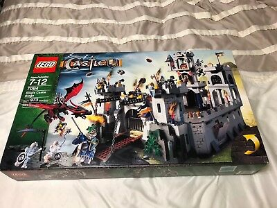 Lego Castle Kings Siege 7094 New And Unopened 33000 Picclick