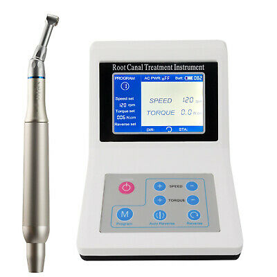 VAKKER LED Reciprocating Endo Motor + 10pack Dental Niti Endodontic Engine Files