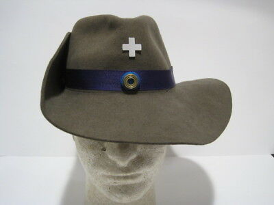 German Imperial Brunswick Chaplain Officer Slouch Hat Cap