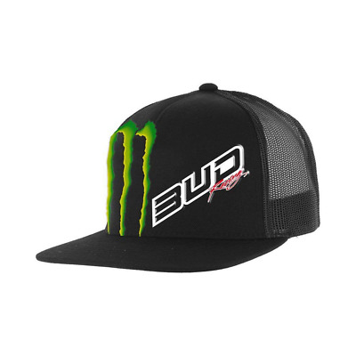 BUD RACING Casquette Team Monster Energy Snapback - Taille unique