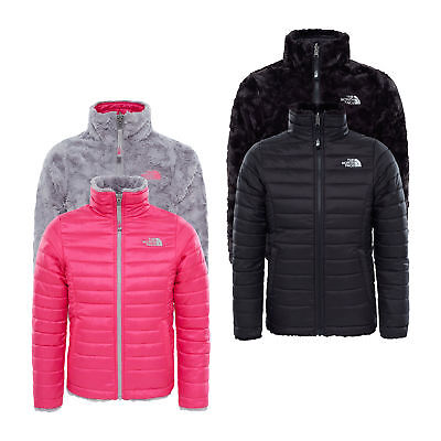 The North Face Girls Reversible Mossbud Swirl Jacket RRP £95