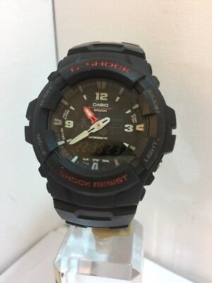 G-Shock by Casio Men's Black Combi Strap Watch