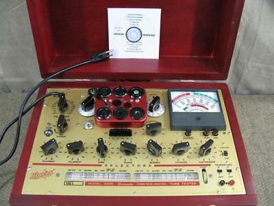 Hickok 6000 Mutual Conductance Tube Tester - Calibrated - Near Perfect Specs*.*
