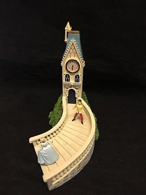 Disney Cinderella music box clock #17362 plays dream is a wish your heart makes