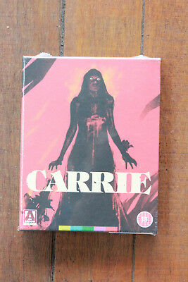 Carrie Limited Edition Blu-ray Arrow Video Rare & Out of Print OOP New!