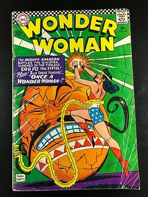 Wonder Woman 166 DC 11/66 Andru Esposito Kanigher G4