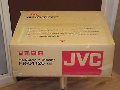 JVC HR-D142U Vintage New in box VCR Video Cassette Recorder VHS Japan N.O.S