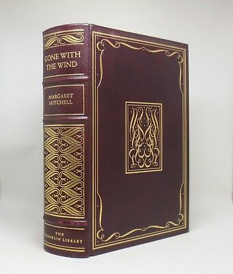 GONE WITH THE WIND ~ Margaret Mitchell ~ Franklin Library ~ A Limited Edition