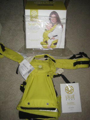 Lille Baby SeatMe baby carrier NEW--- Citrus Color