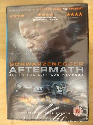 aftermath dvd Arnold Schwarzenegger at his best -brand new- factory sealed