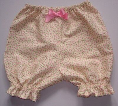 Baby girls bloomers, pants knickers shorts floral flowers Newborn