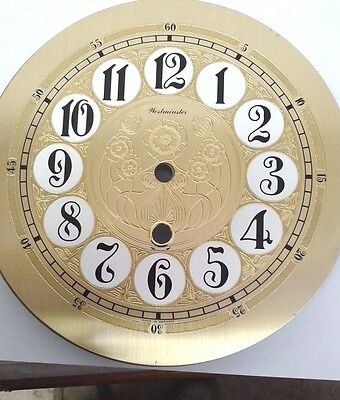 Westminster clock dial for Hermle 781 cable time only movement