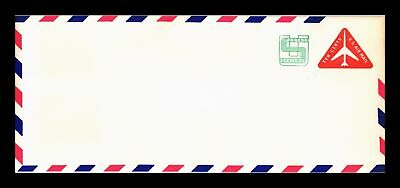 Dr Jim Stamps Us Revalued Air Mail Postal Stationery Legal Size Cover