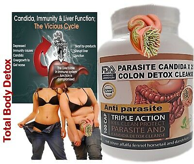#1 Potent Candida Cleanse Yeast Infection Treatment and Detox with Herbs Enzymes