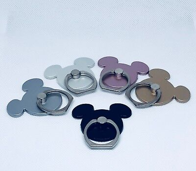Lot of 5 New Finger ring stand holder for cell phone mickey m