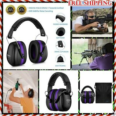 Mpow 035 Noise Reduction Safety Ear Muffs, Shooters Hearing Protection Ear Mu...