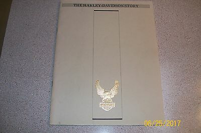 The Harley-Davidson Story Soft Cover Model Evolution from 1903-1982