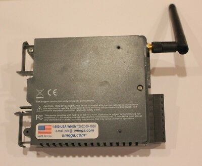 Omega Wireless DIN Rail Mount Receiver with Analog Outputs UWTC-REC4-V2
