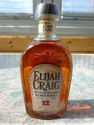 Elijah Craig 12 Jahre Kentucky Straight Bourbon Whiskey Whisky Single Malt