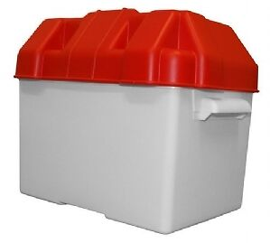 Leisure Battery Box Standard With Straps Caravan/Camper/Boat/Motorhome