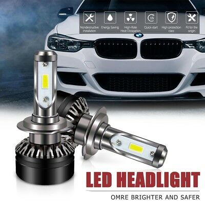 H7 LED Headlight Kit 6500K 6000LM DOT All-in-One Conversion Kit For Hyundai