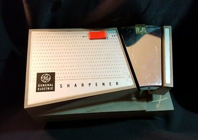Vintage GE Electric Knife and Scissor Sharpener Vrg General Electric Made in USA