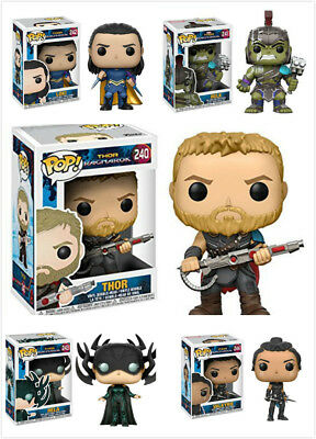 Funko POP Marvel's The Avengers Thor /Loki /Hulk Figure Ragnarok/The Dark World